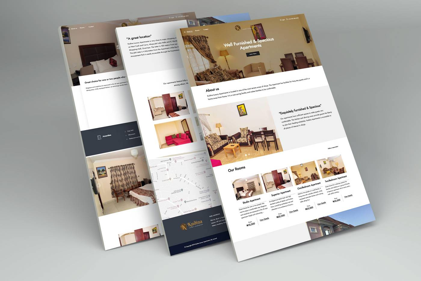 Hotel and Renting Apartments Website