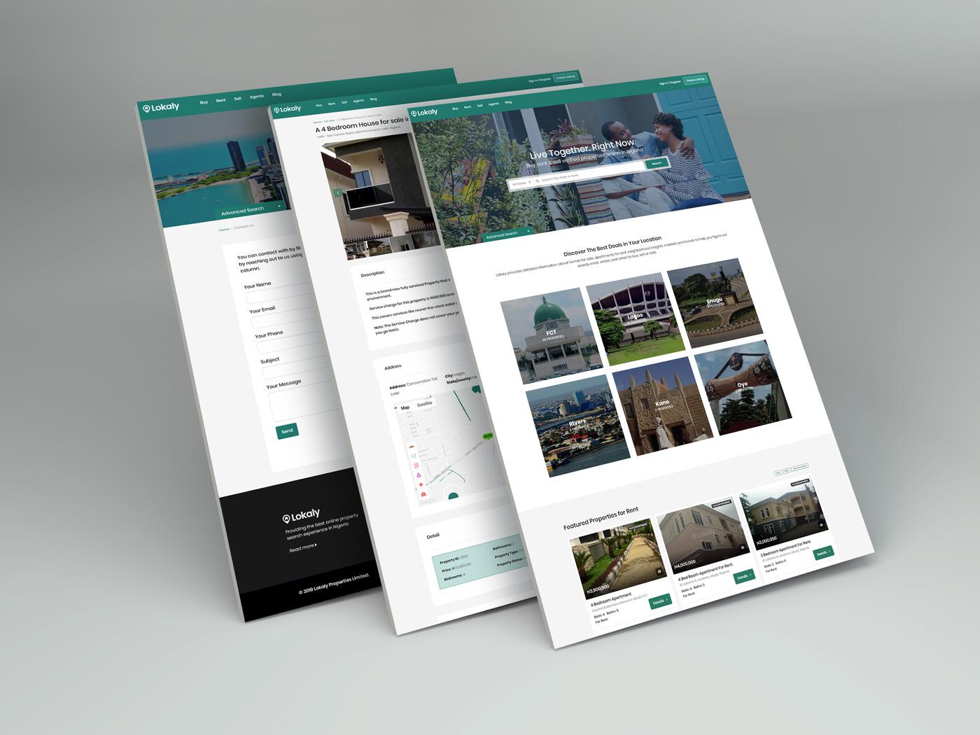 lokaly website portfolio
