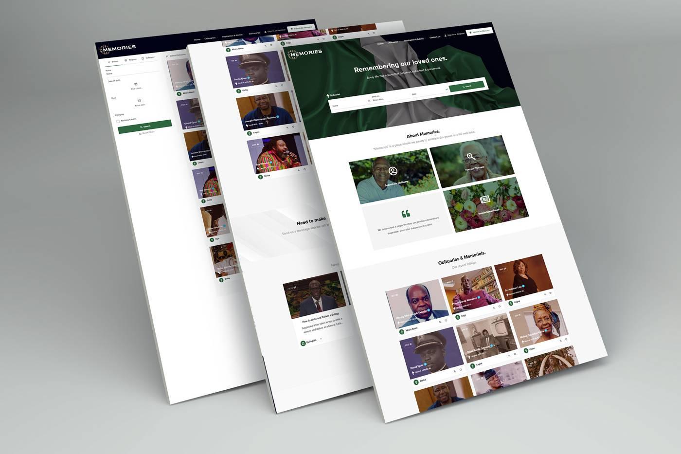 memories website for loved ones
